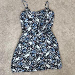 Floral bird dress